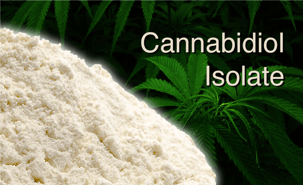 CBD Isolate Crystals and Powder