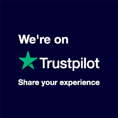 We're on Trustpilot - Share your experience
