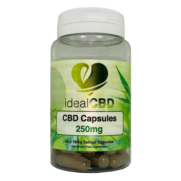 CBD Capsules by idealCBD - 250mg