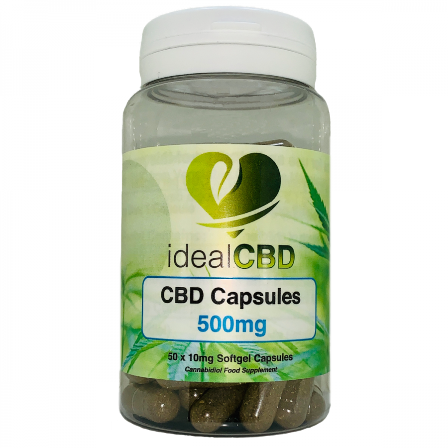CBD Capsules by idealCBD - 500mg