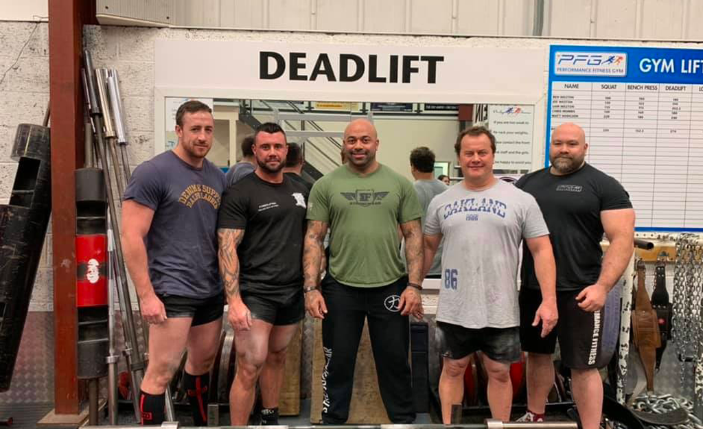 Deadlift Powerlifters